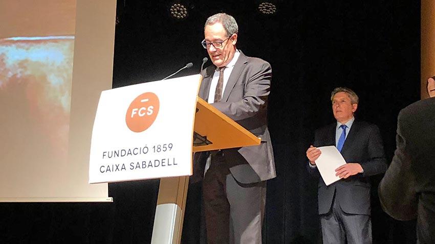 Conferencia de Pere Macias en los 15 años del Cercle Infraestructures