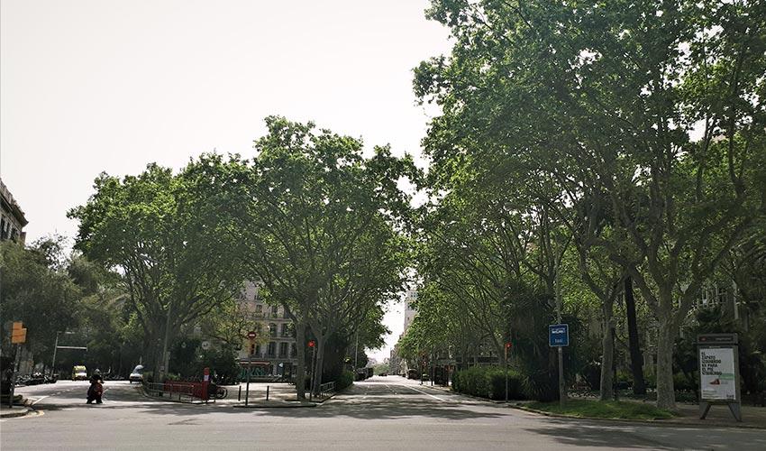 Covid 19 y movilidad en Barcelona Abril 2020